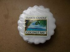 Yankee Candle Deerfield Rare Coconut Bay Wax Tart