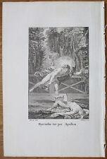 Mythology Ovid Metamorphoses Apollo Hyacinth - 1808