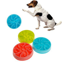 LD_ FLOWER BOWL PET DOG CAT SLOW FOOD FEEDER ANTI CHOKING FEED DISH MAZE TRAY