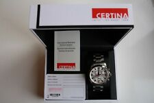 CERTINA Herren DS Podium Silber Dial Chronograph Watch C001.617.11.037.00