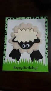 Happy Birthday hand made creative Card