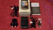 HTC Wildfire A3333 Black Smartphone in Original Box with Accessories*****