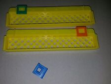 Don't Dug Me! Tyco Game Replacement Parts Pieces Rail Fence Scoring Slides 1995