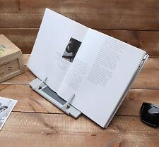 Book Holder Portable Reading Desk Stand Document adjustable tilt Bible Reader