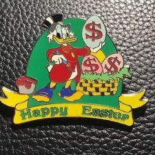 DISNEY SCROOGE MCDUCK HAPPY EASTER PIN PINPICS # 55843