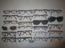 Lot of 23 Coach Eyeglasses WOMEN NAMES College RETRO Hollywood BIG New York WIDE