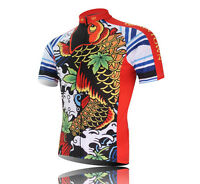 Men Short Sleeve Bike Cycling Jersey Bicycle Clothing ciclismo Shirt Top S-3XL