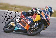Jack Miller mano firmado 12x8 Foto Red Bull KTM Ajo Moto 3, MotoGP 4.