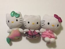 Preowned Lot Of 3 Hello Kitty Dolls