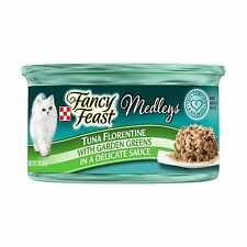 Purina Fancy Feast Medleys Florentine Collection Gourmet Wet Ca... Free Shipping