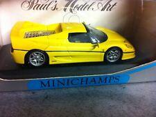 FERRARI F 50 1995 jaune MINICHAMPS 1/43
