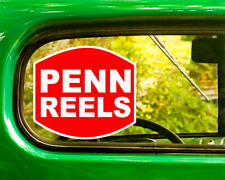 2 Penn Reels Fishing Decals Sticker Bogo For Car Window Bumper Truck Rv