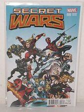 SECRET WARS #6 - Classic Variant - M2 - Jonathan Hickman ESAD RIBIC - Marvel MCU
