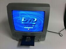 "Magnavox 13MDTD20/17 13"" TV DVD Player Combo AV input W/ remote"