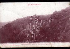 LAC BLANC / SCHLUCHT (88) ROCHER Nommé LE WURZELSTEIN / Militaire en guerre 1915