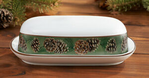 Pinecone Butter Dish
