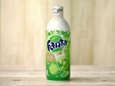 Coca-Cola Fanta Melon Soda 500ml x 6 Aluminum Bottle Limited Edition pop coke