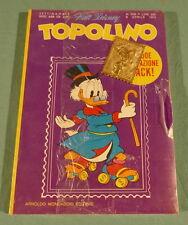 Walt Disney Topolino n. 906 in blister, francobollo metallo Operazione Quack1973