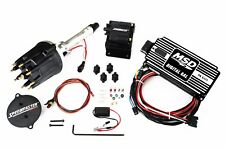 SBC/BBC MSD 6AL Ignition Box & El Rayo Pro Billet Distributor & Coil 64253