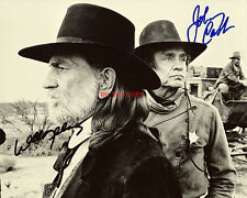WILLIE NELSON JOHNNY CASH SIGNED 8X10 HIGHWAYMEN COUNTRY MUSIC OUTLAWS LEGENDS