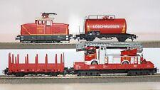 Märklin H0 Zugset aus Digital-Startpackung 29752 Feuerwehr