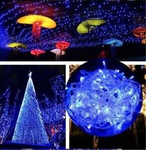 Strom Lichterkette 100M 500 LED Weihnachtsbeleuchtung Innen Außen Garten Deko