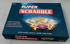 Boxed Super Scrabble Brand Crossword Tinderbox Games With Instructions #444