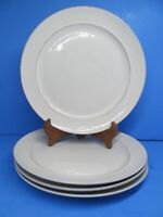 Pottery Barn Portugal Creamy White Rustic Cambria  Dinner Plate Set Of 4 Plates