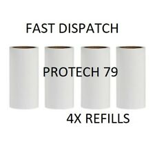 "4x IKEA B�""STIS Peelable Sticky REFILL ROLLS for Bastis Lint Clothes Roller"