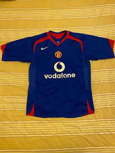 Manchester United Away Football Soccer Shirt Jersey 2004-06 Size M