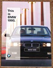 1995 BMW RANGE Sales Brochure - Compact, 3 Series, 5 Series, 7 Series, 8 Series