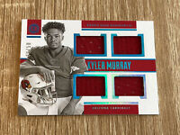 2019 Kyler Murray Encased Rookie Quad Jersey/Patch Rookie Card /50 👀📈🔥