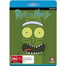 PREORDER: RICK AND MORTY - SEASON 3  -  Blu Ray -  Region B
