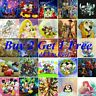 5D Full Drill Diamond Painting Crafts Kits Embroidery Wall Decors Cartoon Gifts