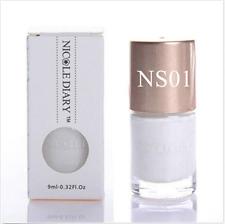 9ml NICOLE DIARY Nagel Stempellack Stempel Nagellack Stamping Lack Nail Polish