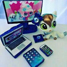 Littlest Accessories Set for LPS Tablet Laptop Phone Tv Bag Pet not included💖