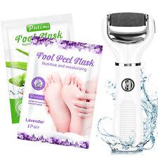 Electric Foot Grinder File Pedicure Kits Foot Mask Remove Callus Hard Dead Skin