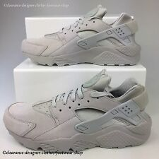 NIKE AIR HUARACHE RUN PREMIUM TRAINERS MENS GREY SHOES UK 10 RRP £120