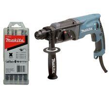 Makita HR2470X12 Bohrhammer inkl. Zubehör-Set D-58914 passend für SDS-Plus Neu