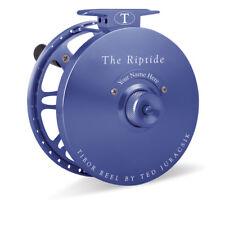 NEW TIBOR RIPTIDE ROYAL BLUE #9-11 FLY FISHING REEL FREE $100 LINE, SHIPPING