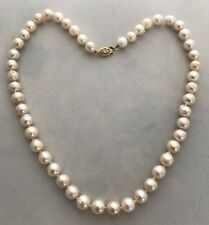 STRAND OF JAPANESE CULTURED AKOYA PEARLS, 7.5-8.0 MM, BAROQUE, RET USD $400.00