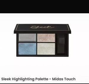 Sleek Highlighter Highlighting Palette Midas Touch BNIB 090 Stocking Filler Gift