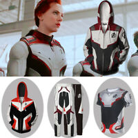 Avengers 4: Endgame Quantum Realm Battle Suit Cosplay Hoodie Sweater Coat Pants