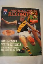AFL Footy Record - 1995 - Semi Final - Essendon v Richmond