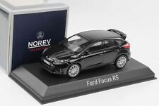 NOREV - 270565 FORD FOCUS RS BLACK COLOUR CIRCA 2016 1:43 SCALE