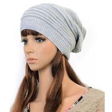 Chapeaux gris en laine mélangée pour femme