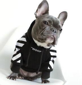 Dog Sweatshirt Fashion Woof Dog Hoodie Pet Clothes