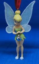 Tinker Bell w/ Bell Christmas Ornament Disney Store 2007 Peter Pan