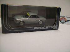 "Lancia Fulvia 1600 ""Stradale"", silver, 1969, Progetto K (Made in Italy) 1:43"