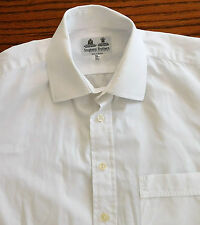 Classic cufflink shirt Collar size 15.5 Stephens Bros Irish cotton mens business
